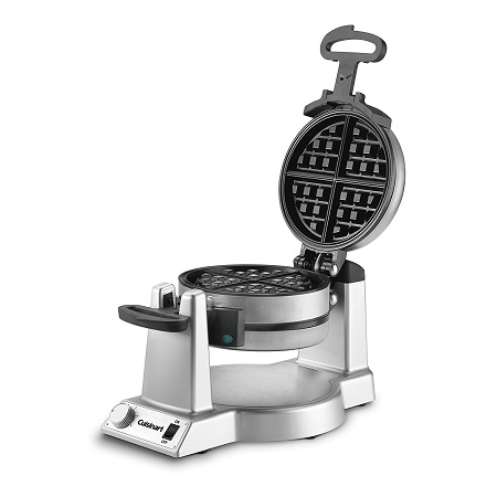 Cuisinart WAF-F20 Waffle Maker on White Background