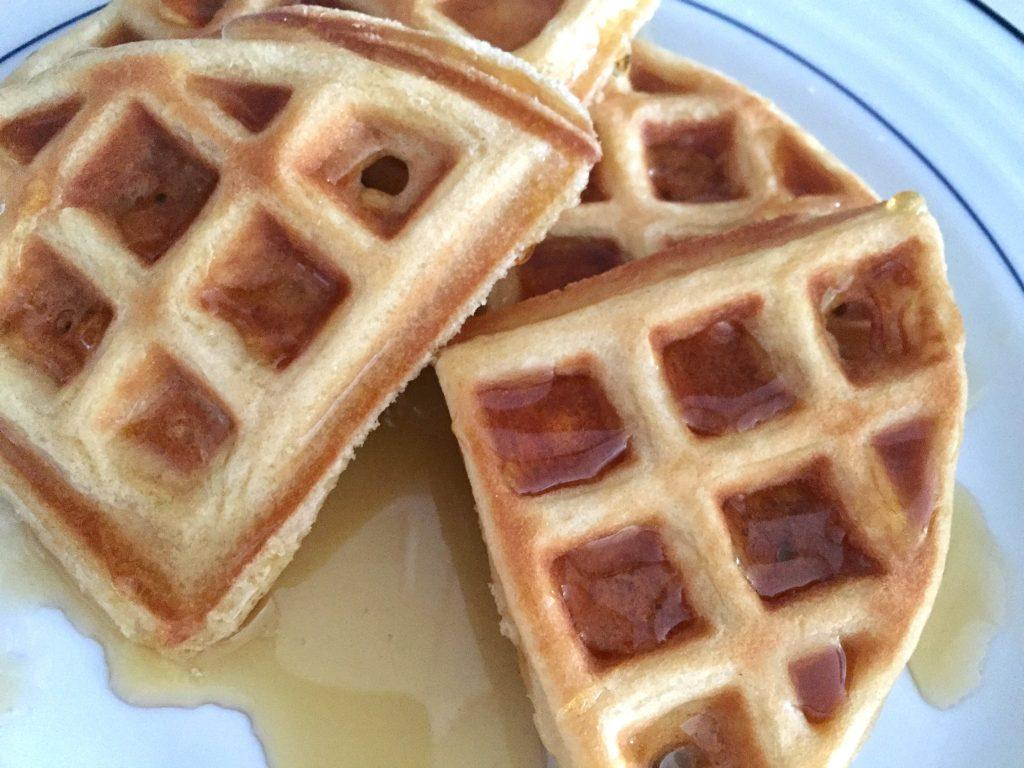 Waffles and Syrup